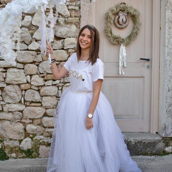 tshirt la sposa